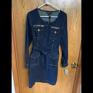 Michael Kors denim dress.